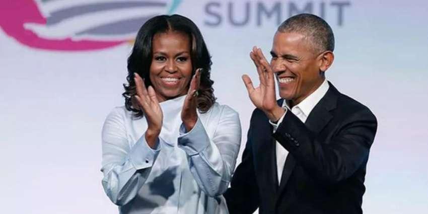 奥巴马夫妇C位出道,携手Netflix逐梦演艺圈