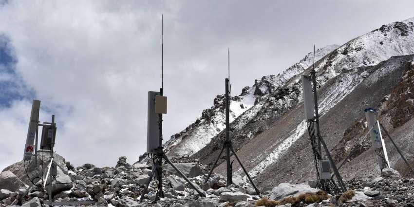 珠峰5G信号特别好!